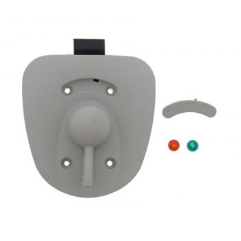 Light Grey Inner Hartal Exterior Door Lock R/H
