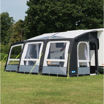 Kampa Rally Air Pro Plus 390 Left Hand  Caravan Awning