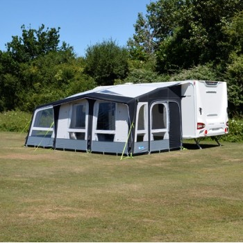 Kampa Club Air Pro 390 Plus Left Hand Caravan Awning Package
