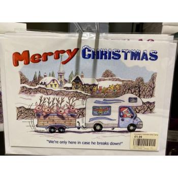 Christmas Cards 8 Pack 'Breakdown'