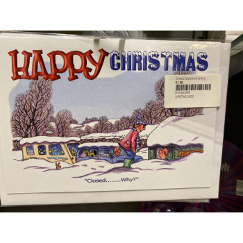 Christmas Cards 8 Pack 'Closed'