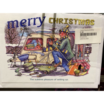 Christmas Cards 8 Pack 'Settingup'