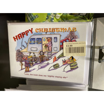Christmas Cards 8 Pack 'Slope'