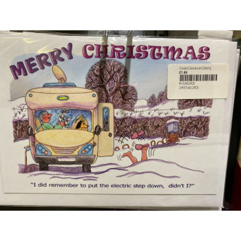 Christmas Cards 8 Pack 'Step'