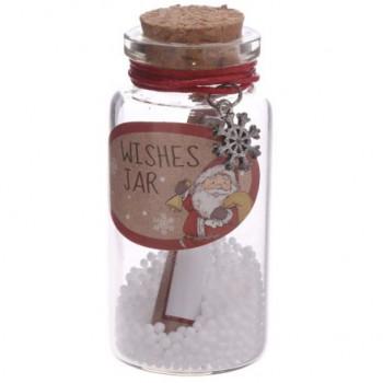 Christmas Wishes Jar