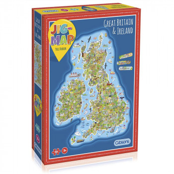Great Britain & Ireland Jigsaw Puzzle (click and collect)