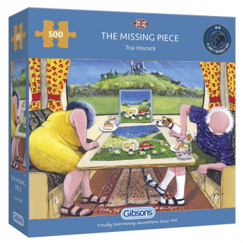 Missing Piece Jigsaw Puzzle