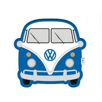 VW Retro Cushion (blue volkswagen)