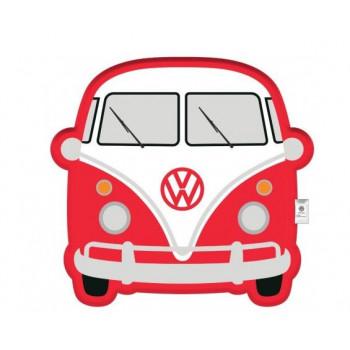 VW Retro Cushion (red volkswagen)