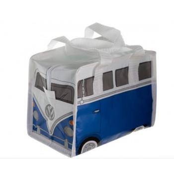 VW Retro Lunch Bag (blue volkswagen)