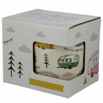 Wildwood Caravan Park Porcelain Mug
