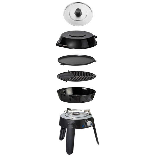 Cadac Safari Chef 2 Pro Quick Release BBQ with Lid Package