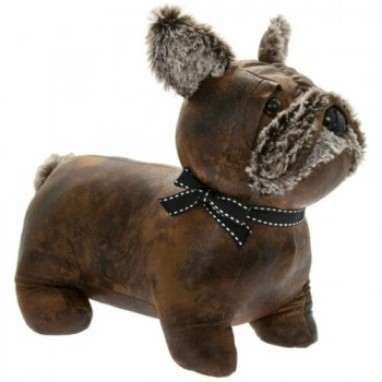 French Bulldog Doorstop (faux leather)