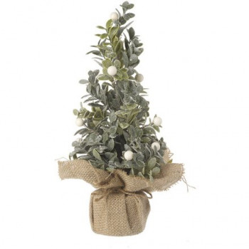 Frosted White Berry Tree (artificial) 33cm