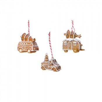 COMING SOON - Gingerbread House Vehicle Hangers 7cm