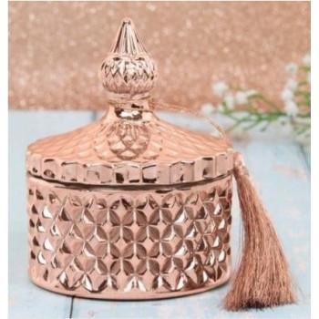 Blossom & Honey Diamond Candle Jar