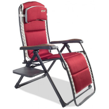 Quest Elite Bordeaux Pro Relax XL Chair with Side Table
