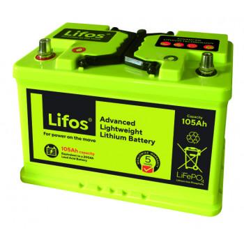 Lifos 105Ah Lithium Battery
