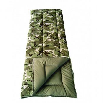 Sunncamp Camouflage Single Sleeping Bag
