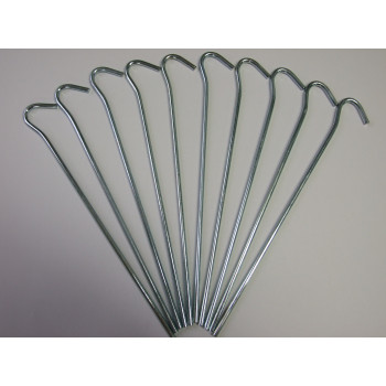 "9.5"" (24cm) Wire Peg Pack of 10"