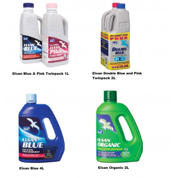 Elsan's Range of Toilet Fluid