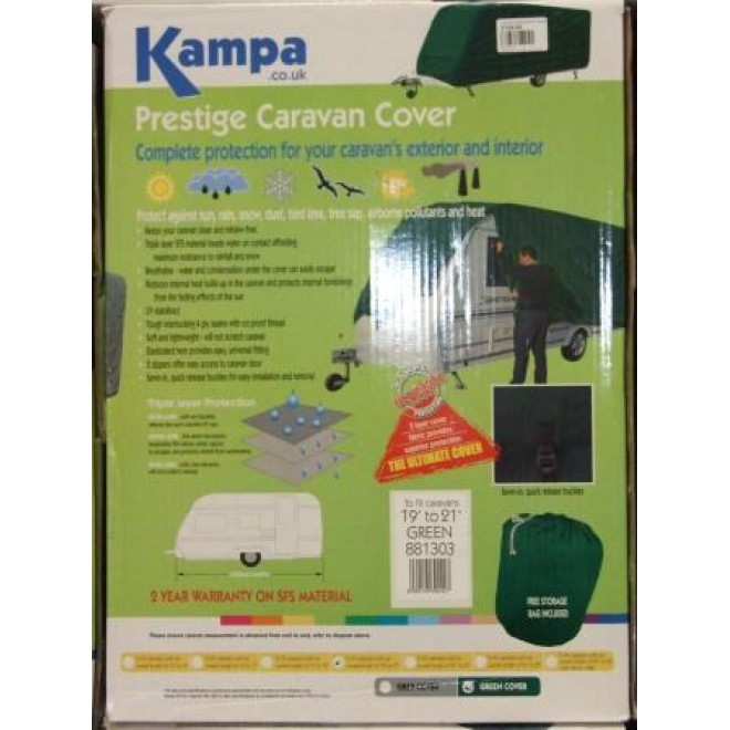 Kampa 17ft - 19ft caravan cover