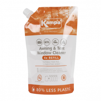 Kampa Awning & Tent Window Cleaner 1L Eco Pouch