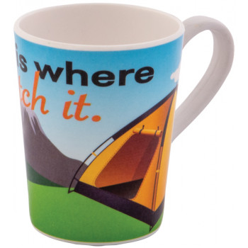 Quest Mug (Tent) - Home Is Where You PITCH it