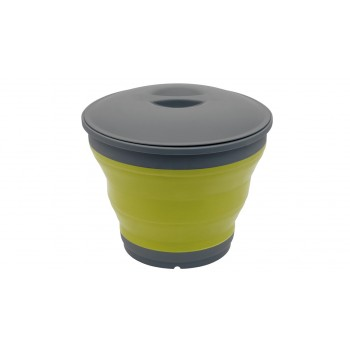 Outwell Collaps Bucket With Lid Green