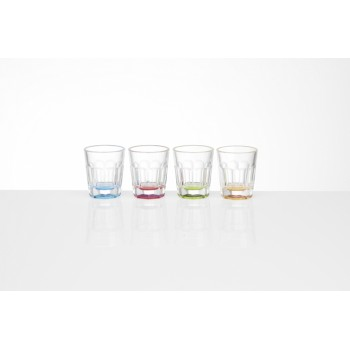 4 Pack of Break-Resistant 50ml Shot Glasses