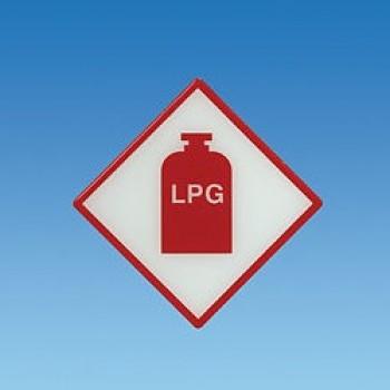LPG Heavy Duty Sticker