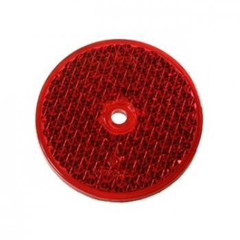 R86 Round Reflector Red