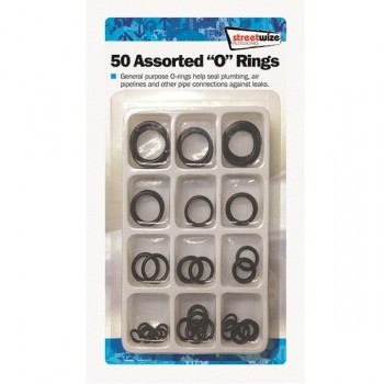 Streetwize 50 Assorted O-Rings