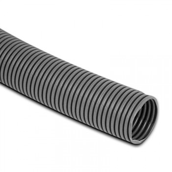 23.5mm Grey Convoluted Hose 1 Metre
