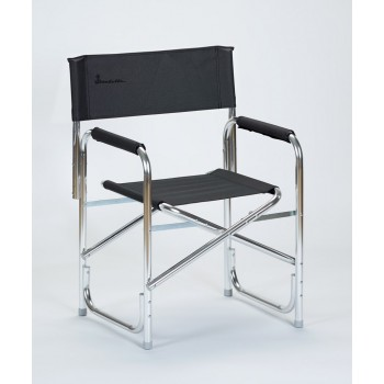 Isabella Director's Chair Dark Grey