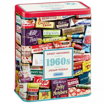 Gibsons Sweet Memories Jigsaw Puzzle (500 Piece)