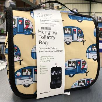 Eco-Chic Hanging Toiletry Bag - Caravans