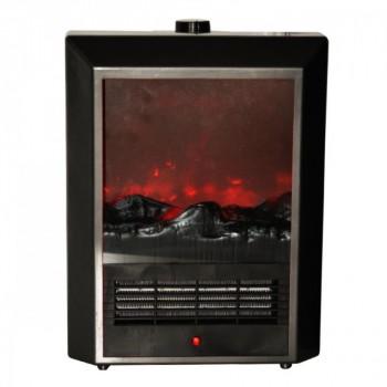 Quest Flame Effect Ceramic Heater