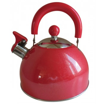Quest 2.5L Red Folding Kettle