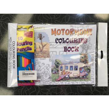 Colouring Book - Motorhome