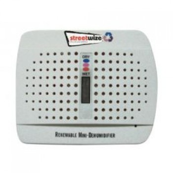 Streetwize Rechargeable Dehumidifier Twin Pack