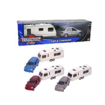 Car Crusader & Caravan Toy