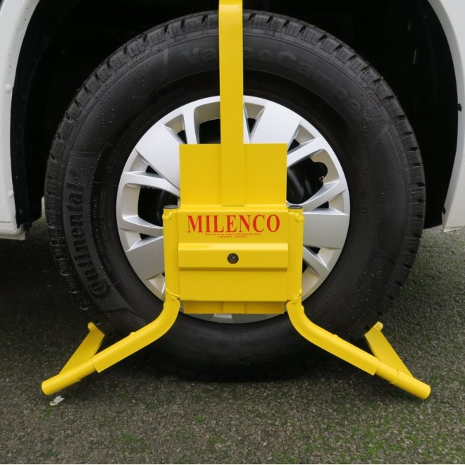Milenco C14 Original Wheelclamp