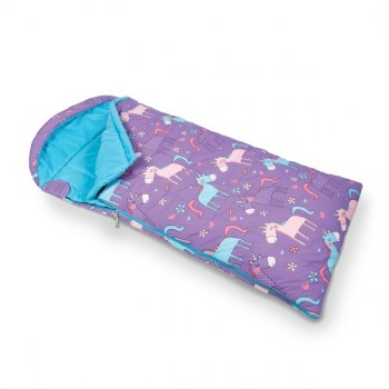 Kampa Unicorns Children's Sleeping Bag