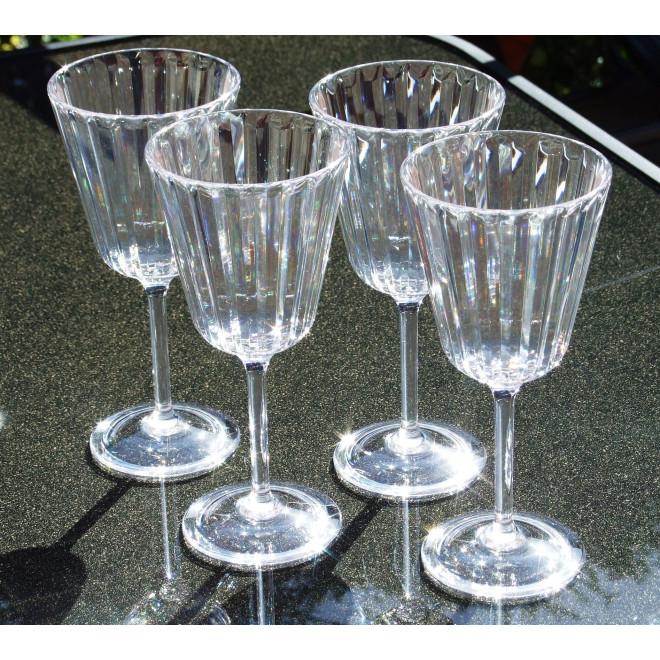 Crystaline Wine  Goblets