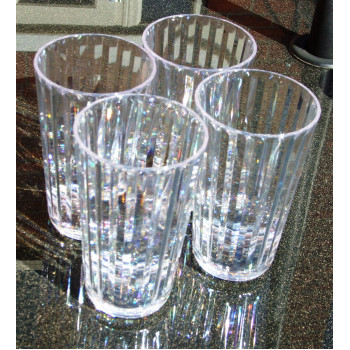 Crystaline Tall Tumblers