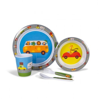 Kampa Animal Traffic Children's Dining Set