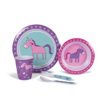 Kampa Unicorns Children's Dining Set