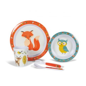 Kampa Woodland Creatures Children's Dining Set