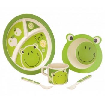 Vango Bamboo Frog Kid's Dining Set